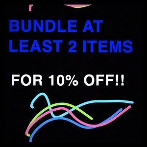 COPY - Bundle at least 2 items and get 10% off!